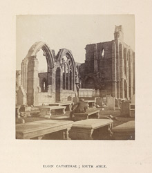 Elgin Cathedral; South Aisle